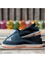 """Espadrilles  """"What The Funk Collection """"  modèle The Game Black"""