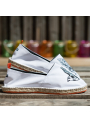 "Espadrilles ""What The Funk "" collection modèle The Game White"