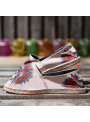 "Espadrilles ""What The Funk Collection "" modèle Sully Pink"