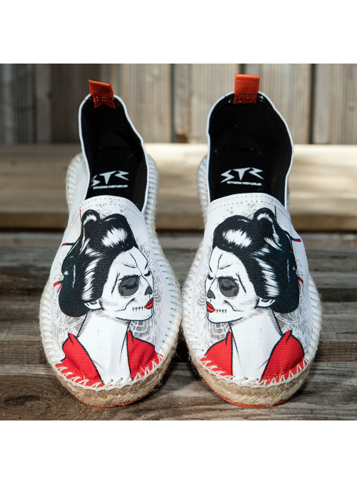 "Espadrilles ""What The Funk Collection "" modèle Kats"