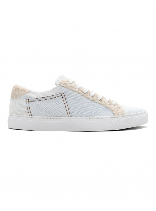 SNEAKERS THE STRING BRAND MARIUS WOOL LIGHT DENIM