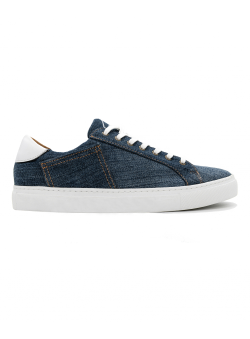 SNEAKERS THE STRING BRAND MARIUS DARK DENIM